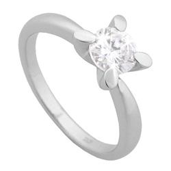 Stříbrný prsten Chiara Circle SAFJ0-R13