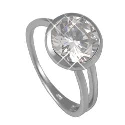 St��brn� prsten Chiara Circle SAFM0-R6