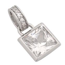 Stříbrný přívěsek Chiara Square SCEF1-N16