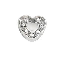 Pøívìsek Morellato Drops Heart Crystals CZ126