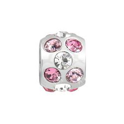 Pøívìsek Morellato Drops Pink Nuance CZ161
