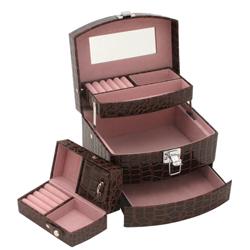 Obrázek č. 1 k produktu: Šperkovnice JKBox Brown SP250-A21