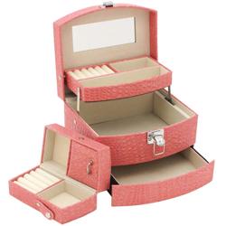 Obrázek č. 1 k produktu: Šperkovnice JKBox Pink SP250-A5