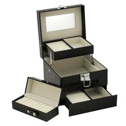 Obrázek č. 1 k produktu: Šperkovnice JKBox Black SP252-A25