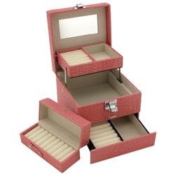 Obrázek č. 1 k produktu: Šperkovnice JKBox Pink SP252-A5