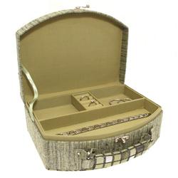 Obrázek č. 1 k produktu: Šperkovnice JKBox Cube Green SP290-A19 - II.jakost