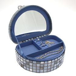 Obrázek č. 1 k produktu: Šperkovnice JKBox Cube Blue SP292-A13 - II. jakost
