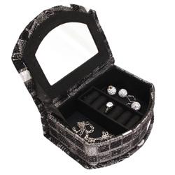 Obrázek č. 1 k produktu: Šperkovnice JKBox Cube Black SP295-A3 - II.jakost