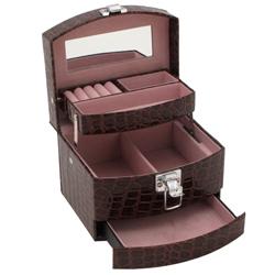 Obrázek č. 1 k produktu: Šperkovnice JKBox Brown SP300-A21