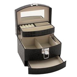 Obrázek č. 1 k produktu: Šperkovnice JKBox Black SP300-A25