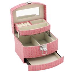 Obrázek č. 1 k produktu: Šperkovnice JKBox Pink SP300-A5