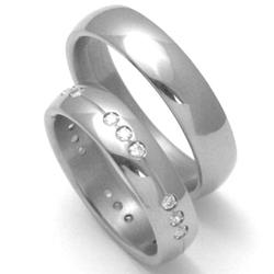 Obrázek č. 2 k produktu: Pánský titanový snubní prsten TTN0101