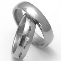 Obrázek č. 3 k produktu: Pánský titanový snubní prsten TTN0101