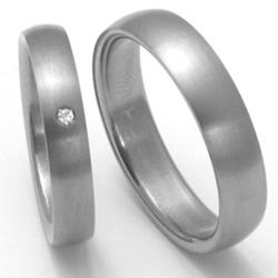 Obrázek č. 1 k produktu: Dámský titanový snubní prsten TTN0202