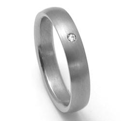Dámský titanový snubní prsten TTN0202