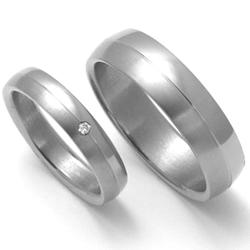 Obrázek č. 1 k produktu: Dámský titanový snubní prsten TTN0402