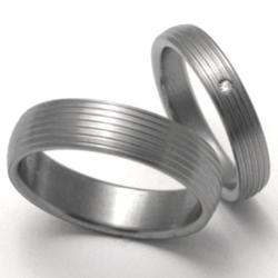 Obrázek č. 1 k produktu: Dámský titanový snubní prsten TTN0603