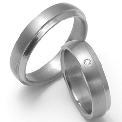 Obrázek č. 1 k produktu: Dámský titanový snubní prsten TTN0803