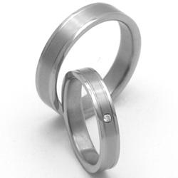 Obrázek č. 1 k produktu: Dámský titanový snubní prsten TTN0902