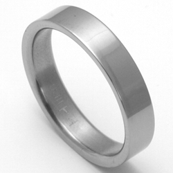 Pánský titanový snubní prsten TTN1101
