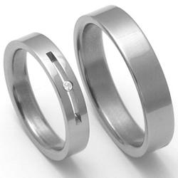 Obrázek č. 1 k produktu: Dámský titanový snubní prsten TTN1102