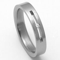D�msk� titanov� snubn� prsten TTN1102