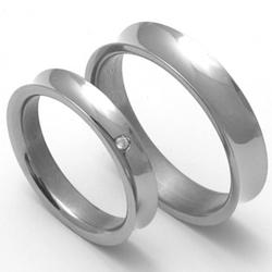 Obrázek č. 1 k produktu: Pánský titanový snubní prsten TTN1501