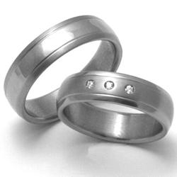 Obrázek č. 1 k produktu: Pánský titanový snubní prsten TTN1601