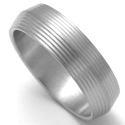 Pánský titanový snubní prsten TTN1701