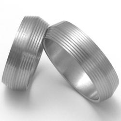 Obrázek č. 1 k produktu: Pánský titanový snubní prsten TTN1701