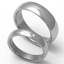 Obrázek č. 1 k produktu: Dámský titanový snubní prsten TTN1903