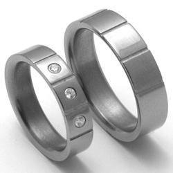 Obrázek č. 1 k produktu: Pánský titanový snubní prsten TTN2001