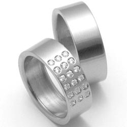 Obrázek č. 1 k produktu: Pánský titanový snubní prsten TTN2801
