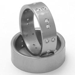 Obrázek č. 2 k produktu: Pánský titanový snubní prsten TTN2801