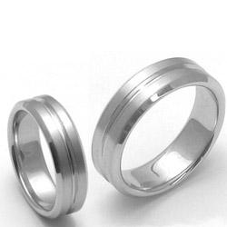 Obrázek č. 1 k produktu: Pánský titanový snubní prsten TTN3101