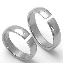 Obrázek č. 1 k produktu: Pánský titanový snubní prsten TTN3301