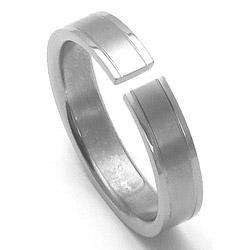 Pánský titanový snubní prsten TTN3401