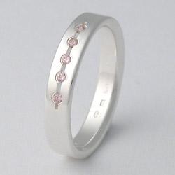 Stříbrný Prsten W4025rose Zero Collection