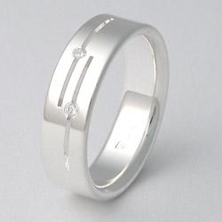 Stříbrný Prsten W6015 Zero Collection