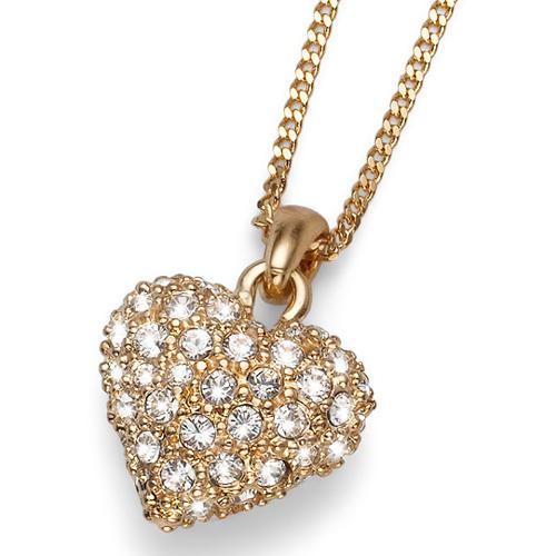 Přívěsek s krystaly Swarovski Oliver Weber Full Heart