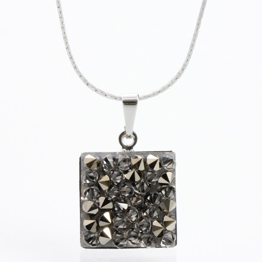 Náhrdelník s krystaly Swarovski Rock 15 11304553MLGLD