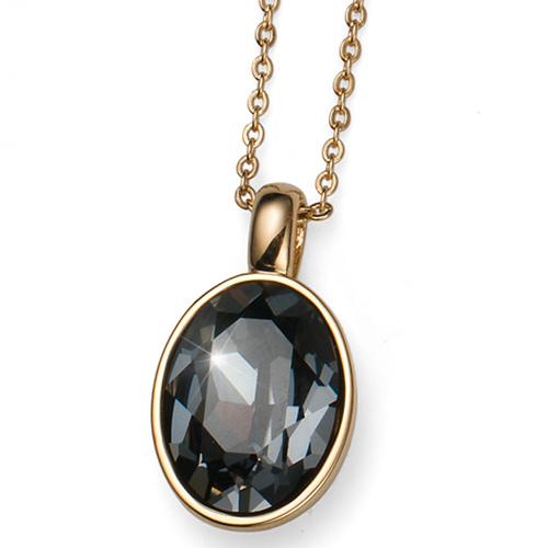 Přívěsek s krystaly Swarovski Oliver Weber Giant Gold