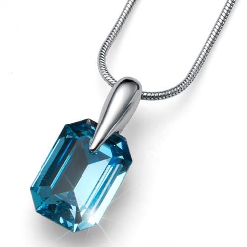 Přívěsek s krystaly Swarovski Oliver Weber Club Aqua