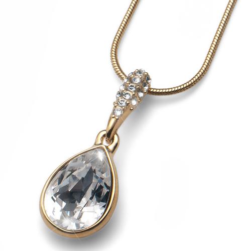 Přívěsek s krystaly Swarovski Oliver Weber Reach Gold