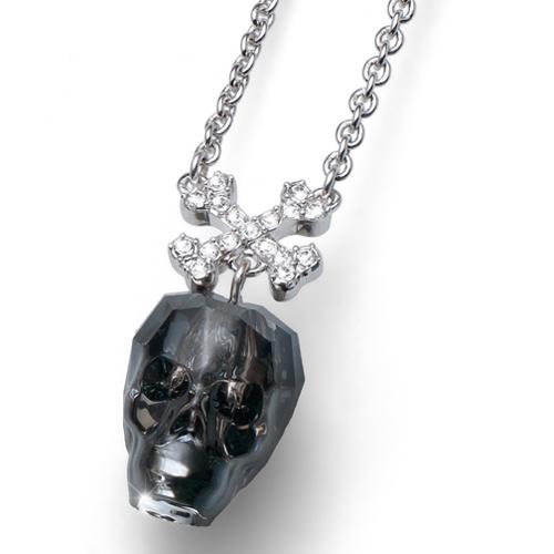 Přívěsek s krystaly Swarovski Oliver Weber Skull
