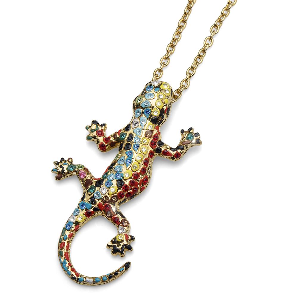 Náhrdelník s krystaly Swarovski Oliver Weber Gaudí Drac Gold