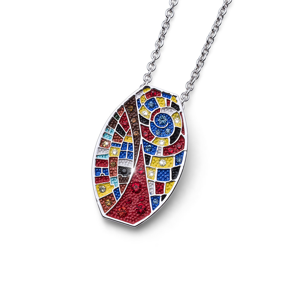Přívěsek s krystaly Swarovski Oliver Weber Art One 11714