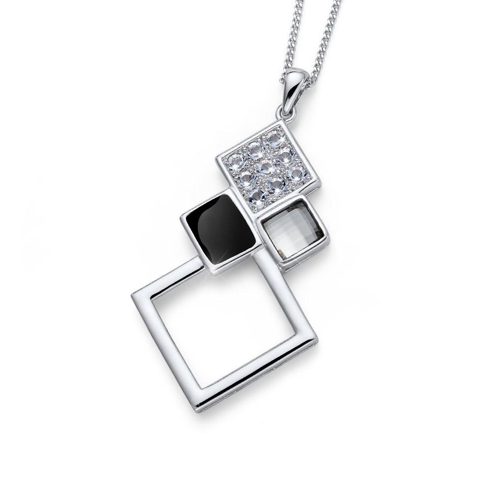 Přívěsek s krystaly Swarovski Oliver Weber Box 11726