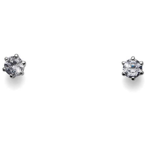 Náušnice s krystaly Swarovski Oliver Weber Brili Small