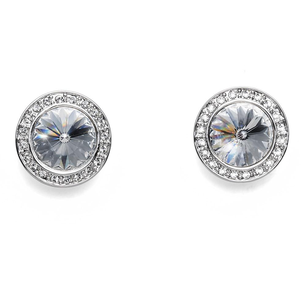Náušnice s krystaly Swarovski Oliver Weber Coast Crystal
